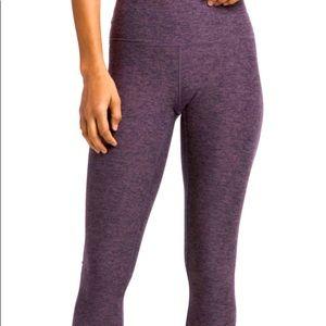 LOLE Purple Galaxy Patterned Leggings Sz XS